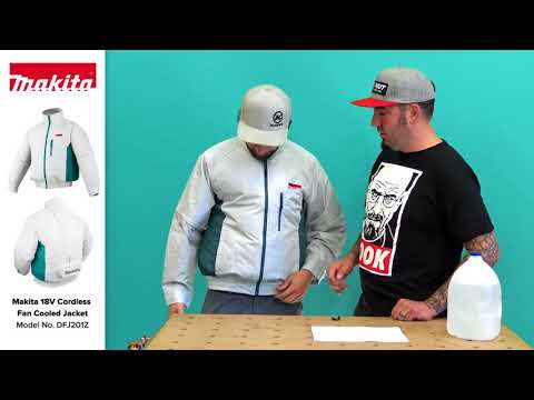 Makita 18V Cordless Fan Cooled Jacket Review DFJ201Z