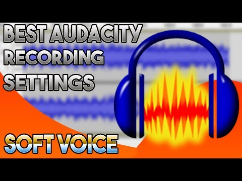 Make Your Voice Sound Professional Using Audacity | Best Audacity Recording Settings | 2017