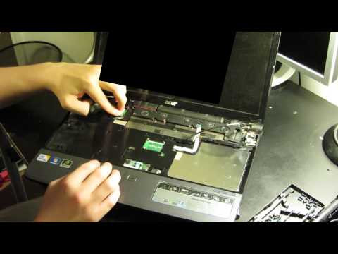 Acer Aspire 5739G bluetooth module install