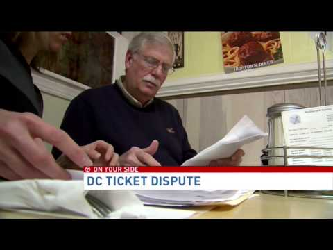Md. man says D.C. DMV issued him parking ticket while his car was parked 60 miles outside city