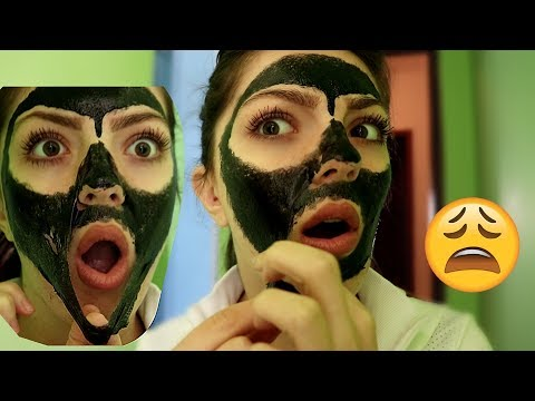 Painful Black Mask CHALLENGE !!!