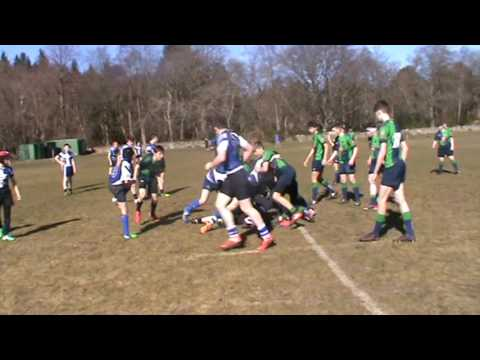 Shetland U15's Rugby Trip March 2017