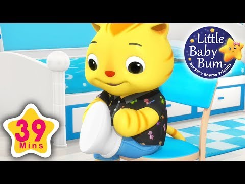 Getting Dressed | Part 2 | Plus More Nursery Rhymes | 39 Minutes Compilation from LittleBabyBum!