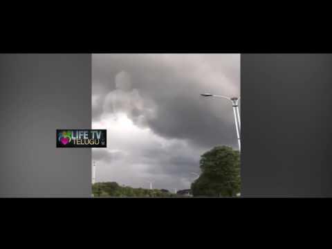 ఆకాశంలో తిరుమల శ్రీనివాసుడు | Lord Venkateswara in the sky | Lifetv Telugu
