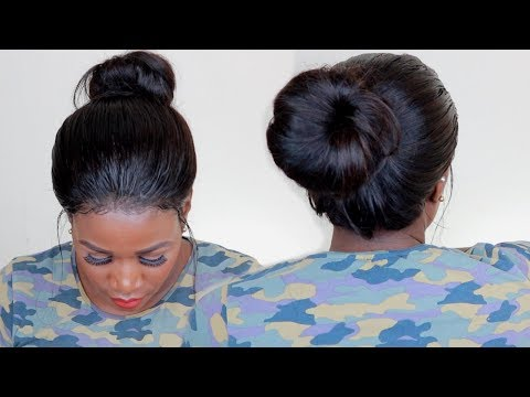 HOW TO HIGH BUN | TOP KNOT ON A WIG | BEAUTY FOREVER HAIR