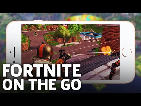 Fortnite Battle Royale - Full Mobile Match iOS Gameplay