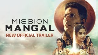Mission Mangal   New Official Trailer   Akshay, Vidya,  Sonakshi, Taapsee, Dir: Jagan Shakti  15 Aug