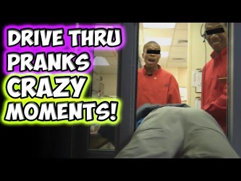 Drive Thru Pranks CRAZY MOMENTS!!!