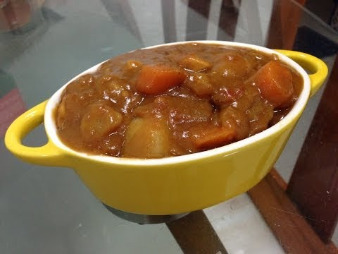 Japanese Curry Rice using Vermont Curry Mix Recipe