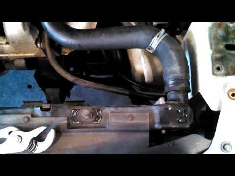 Radiator replacement 2001 - 2004 Dodge Grand Caravan 3.3L Install Remove Replace
