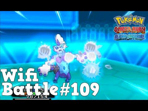 Pokemon ORAS / X&Y Wifi Battle #109: Thundurus vs Scizor (Omega Ruby & Alpha Sapphire)