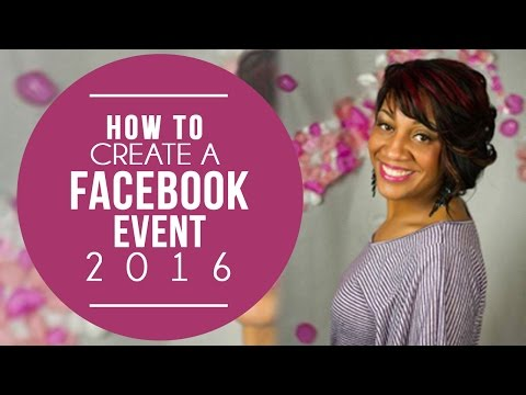 How To Create A Facebook Event 2016