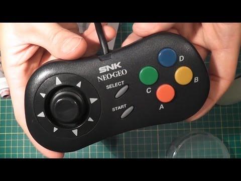 Let's Repair - Ebay Junk - SNK Neo Geo CD Controller - Dodgy D-pad Fix And Refurb
