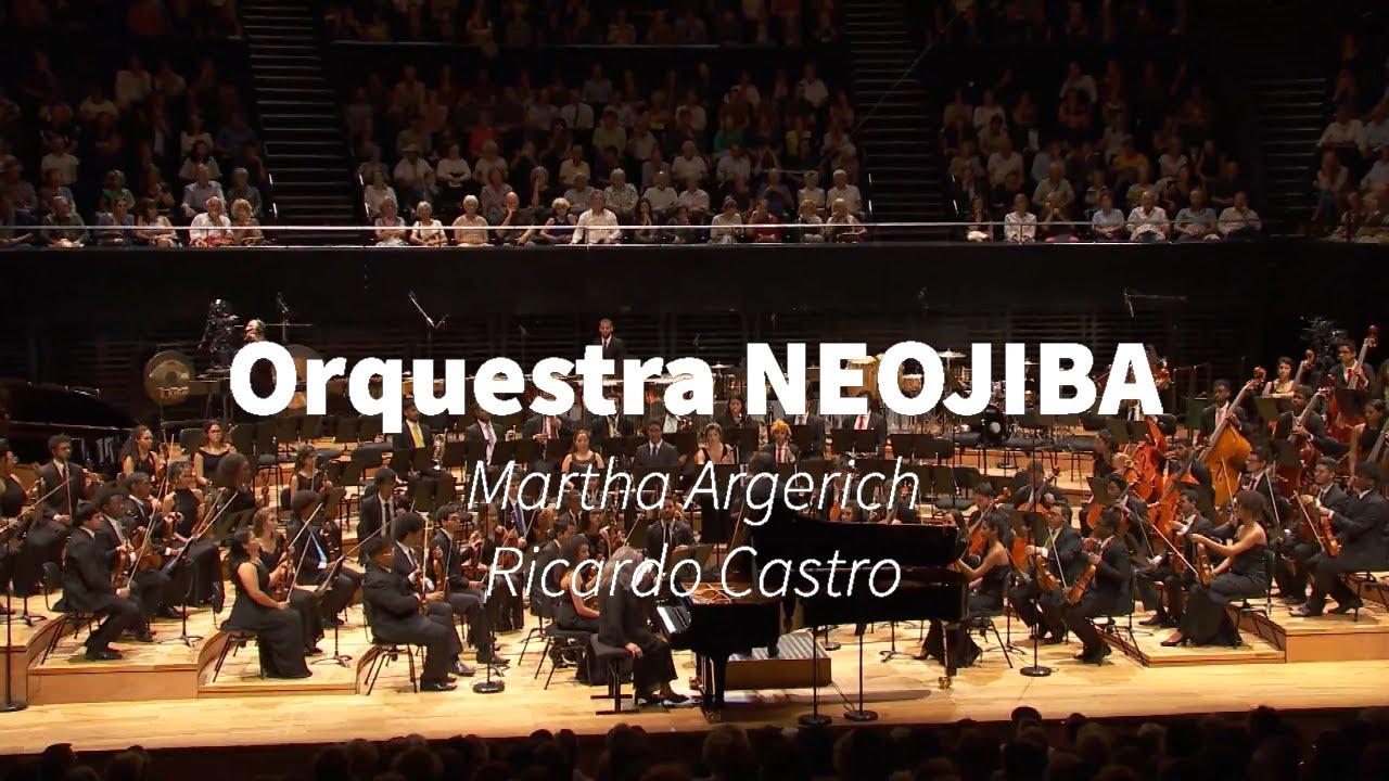 Martha Argerich - Ricardo Castro - NEOJIBA Orchestra
