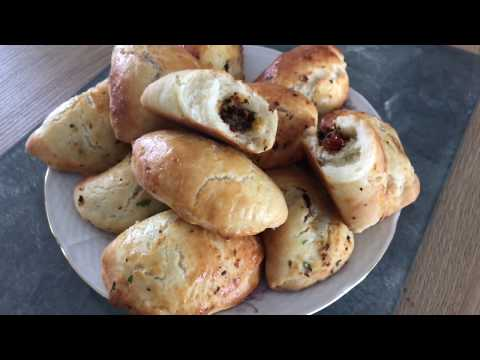 Olive Pesto Stuffed Soft Hand Pies - Episode 343 - Baking with Eda