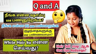 Reply with all your questions🙂/hair care doubts/tamil/Jegathees meena