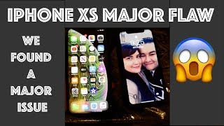 Discovered a iPhone Xs major flaw😱! Is it a hardware issue or Software issue? Re-upload