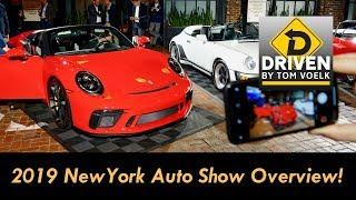Tour the 2019 New York International Auto Show!
