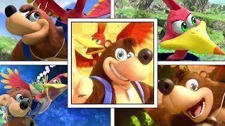Super Smash Bros Ultimate: Banjo Kazooie Moveset Breakdown (Moveset, Animation, Taunts, Final Smash)