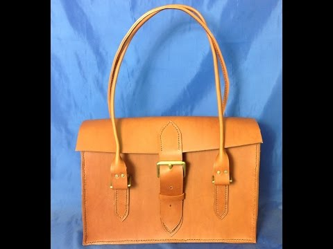 How to make a Ladies Leather Shoulder Bag