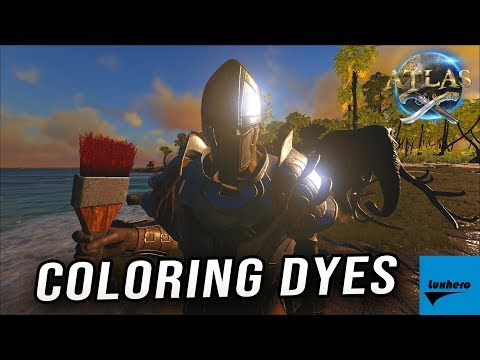 Atlas - How to Craft and Use Coloring Dyes