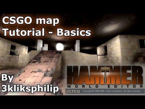 CS GO map tutorial 2/3 - Basics of making the map