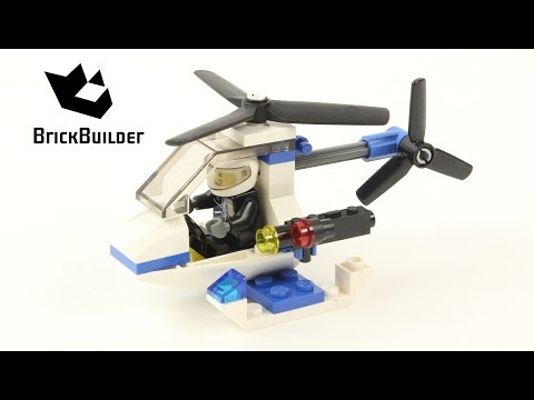 Lego City 30014 Police Helicopter - Lego Speed Build