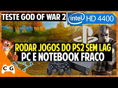 Configurando Emulador de ps2 + Bios Para PC e Notebook Fraco + Teste God of War 2 #364