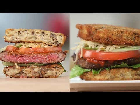 Truffle Mac 'n' Cheese Burger Recipe | Eat the Trend