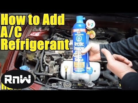 How to Safely and Easily Add Refrigerant to Your Cars AC System