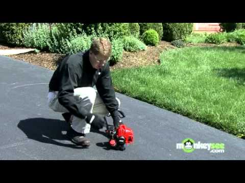 Starting a Gas String Trimmer