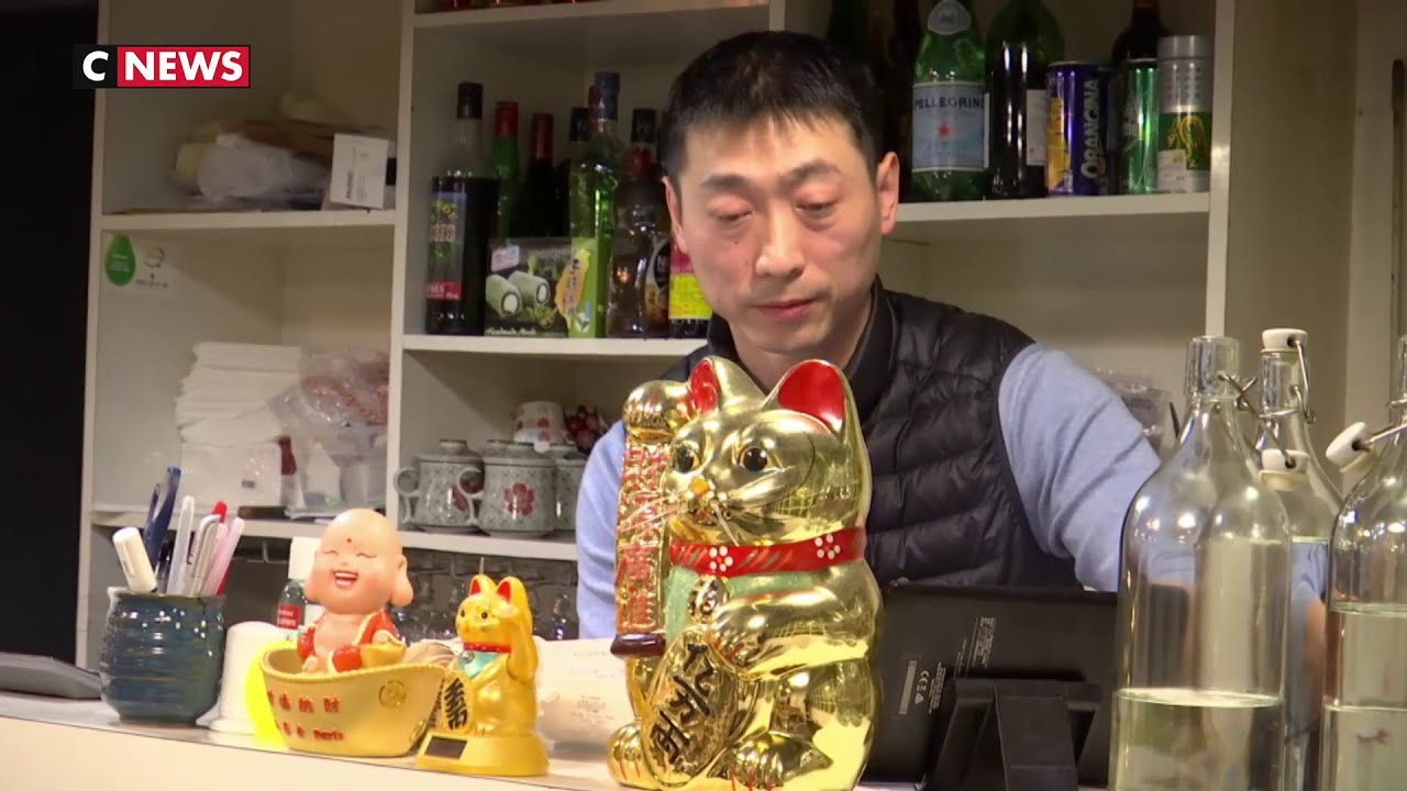 Coronavirus : les restaurants chinois désertés