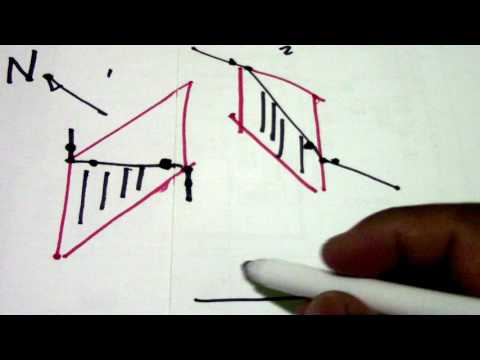 Northing Orientation Isometric Drawing Shadowing Line Vertical Horizontal