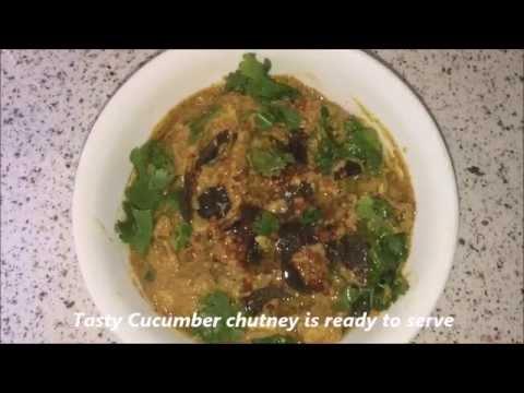 Dosakaya Mukkala Pachadi Recipe / Cucumber Chutney