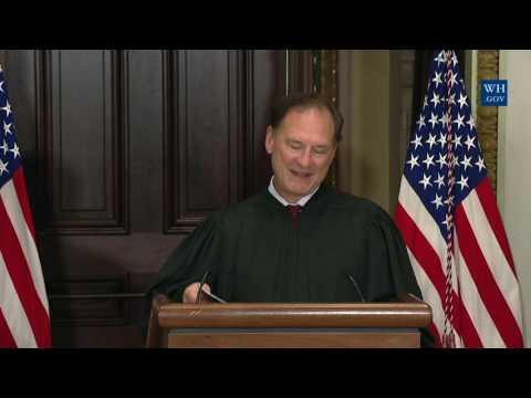 Justice Samuel Alito Swears-In EPA Administrator Scott Pruitt