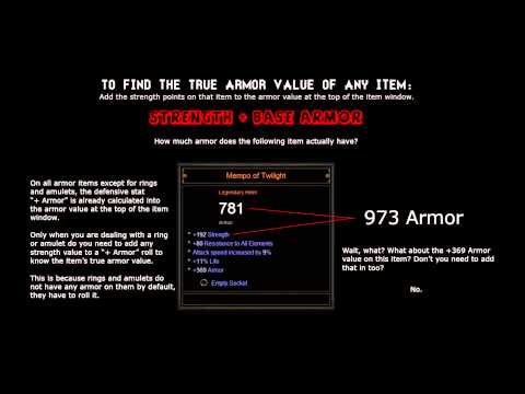 Diablo 3 - The Basics of Items - How to Read Stats on Gear