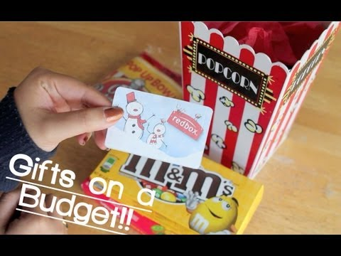 Gifts On A Budget!! Movie Night!