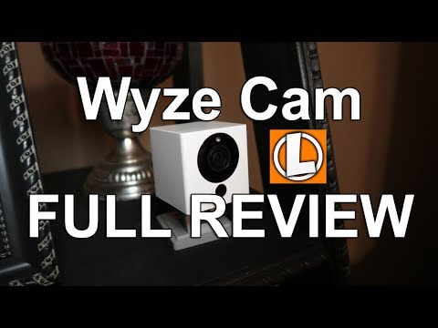 Wyze Cam Review 1080p Wireless Smart Home Camera - Unboxing, Setup, Settings, Footage