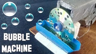 How to Make a Bubble Machine at home