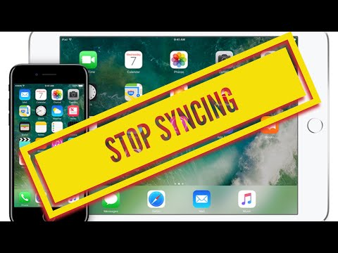 How can I stop syncing photos from my iPhone to my iPad and vice versa SOLVED 2018