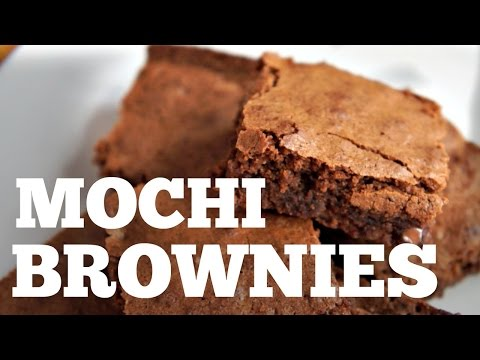 MOCHI BROWNIES  Recipe | Gluten-free You Made What?!