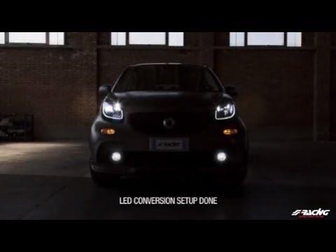 [ENG] Smart 453 Front Lights Led Conversion - Simoni Racing
