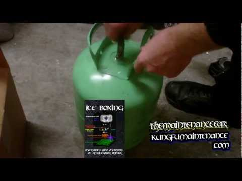 How To Properly Dispose Of Empty Freon Refrigerant Cans R22 MO99 R410A R134A R438A Tanks