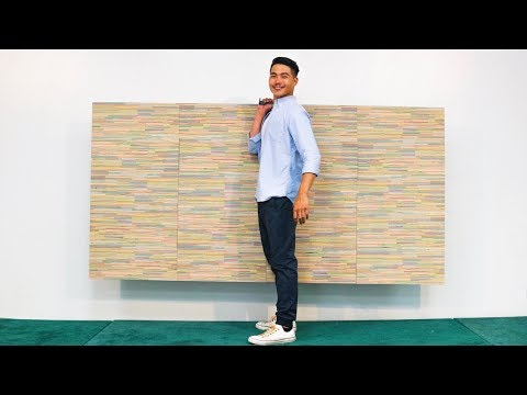 A PLYWOOD MADE OUT OF SKATEBOARDS!