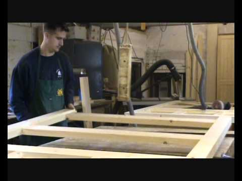 Manufacture of Timber Side Hung Garage Doors