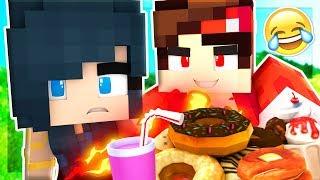FATTEST MAN DESTROYS MINECRAFT! (Minecraft Adventures)