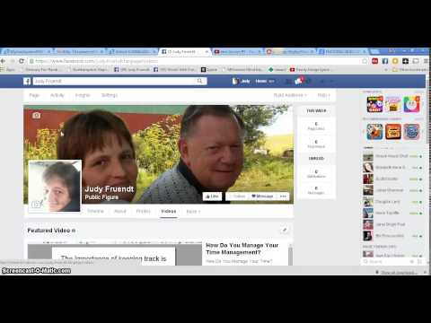Facebook Fan Page Featured Videos and Playlist Videos