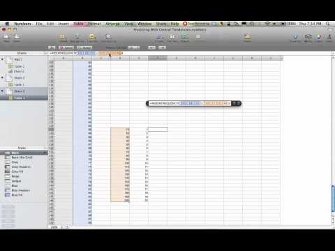 Making a Histogram with Macintosh Numbers