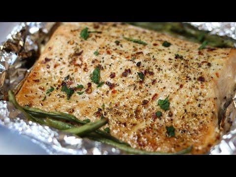 Baked Lemon Pepper Salmon