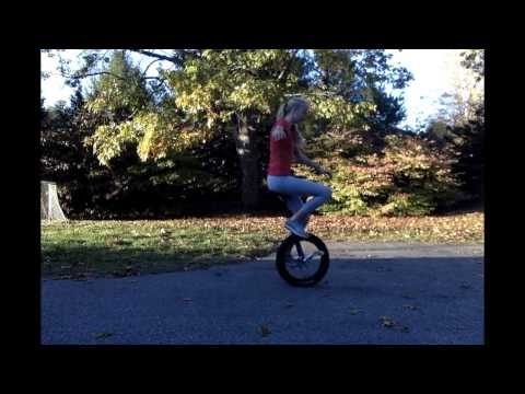 How to One Foot Idle on a Unicycle
